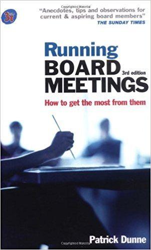 Running Board Meetings Quantum Governance L3c